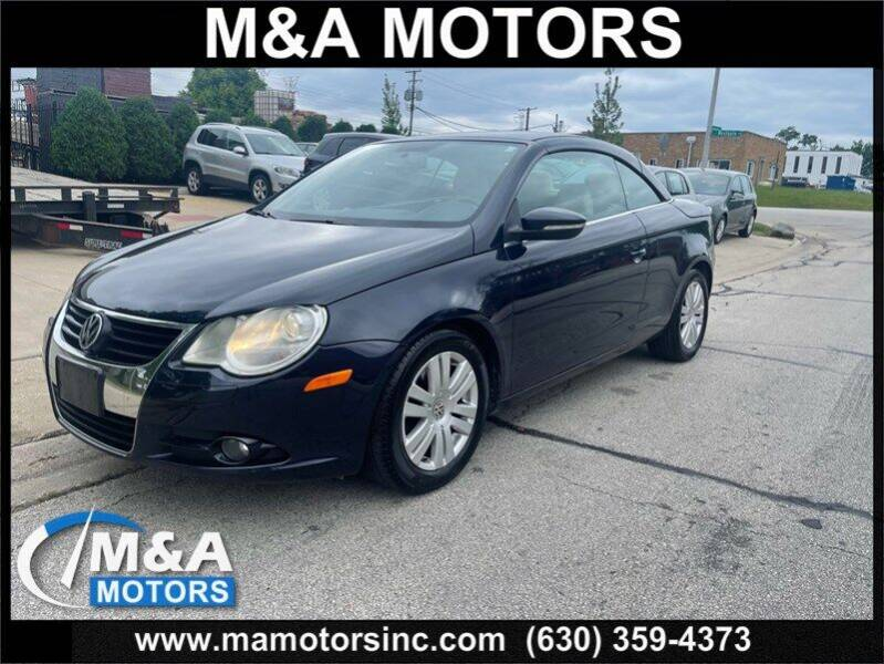 2009 Volkswagen Eos for sale at M & A Motors in Addison IL