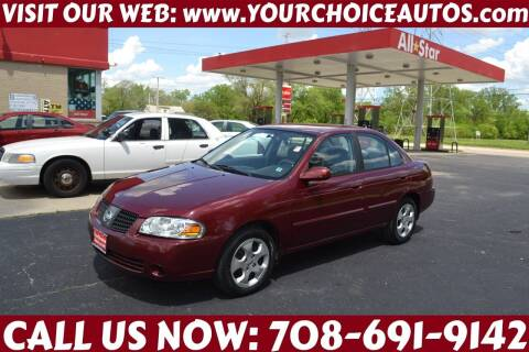 2005 Nissan Sentra for sale at Your Choice Autos - Crestwood in Crestwood IL