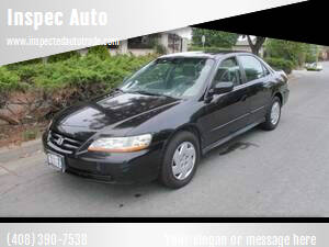 2002 Honda Accord for sale at Inspec Auto in San Jose CA