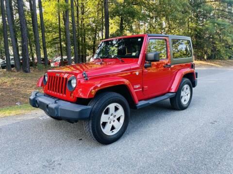 2011 Jeep Wrangler for sale at H&C Auto in Oilville VA