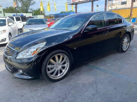 2015 Infiniti Q40 for sale at AUTO ALLIANCE LLC in Miami FL