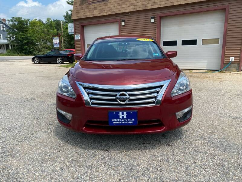 2014 Nissan Altima for sale at Hornes Auto Sales LLC in Epping NH