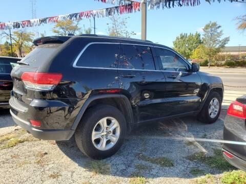 2017 Jeep Grand Cherokee for sale at ECONOMY AUTO MART in Chicago IL