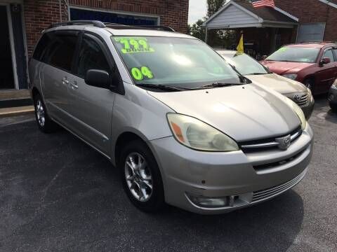 2004 Toyota Sienna for sale at McNamara Auto Sales - Dover Lot in Dover PA