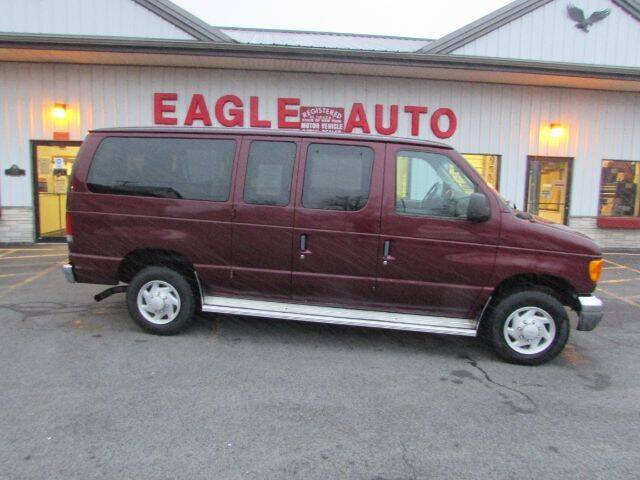 2005 Ford E-Series Wagon for sale at Eagle Auto Center in Seneca Falls NY