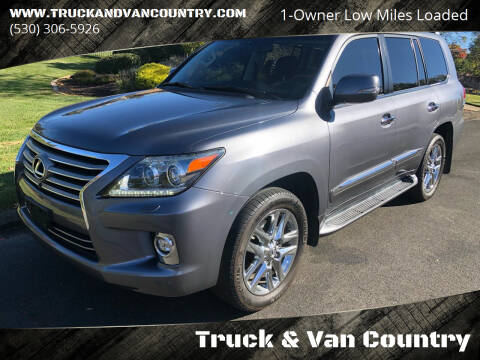 2015 Lexus LX 570 for sale at Truck & Van Country in Shingle Springs CA