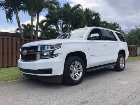 2016 Chevrolet Tahoe for sale at Auto Direct of South Broward in Miramar FL