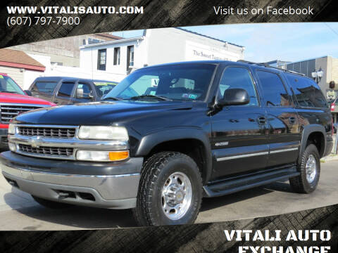 2000 Chevrolet Suburban for sale at VITALI AUTO EXCHANGE in Johnson City NY