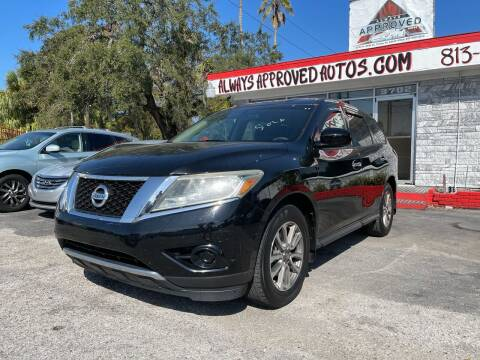 2014 Nissan Pathfinder for sale at Always Approved Autos in Tampa FL