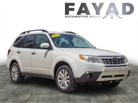 2012 Subaru Forester for sale at FAYAD AUTOMOTIVE GROUP in Pittsburgh PA