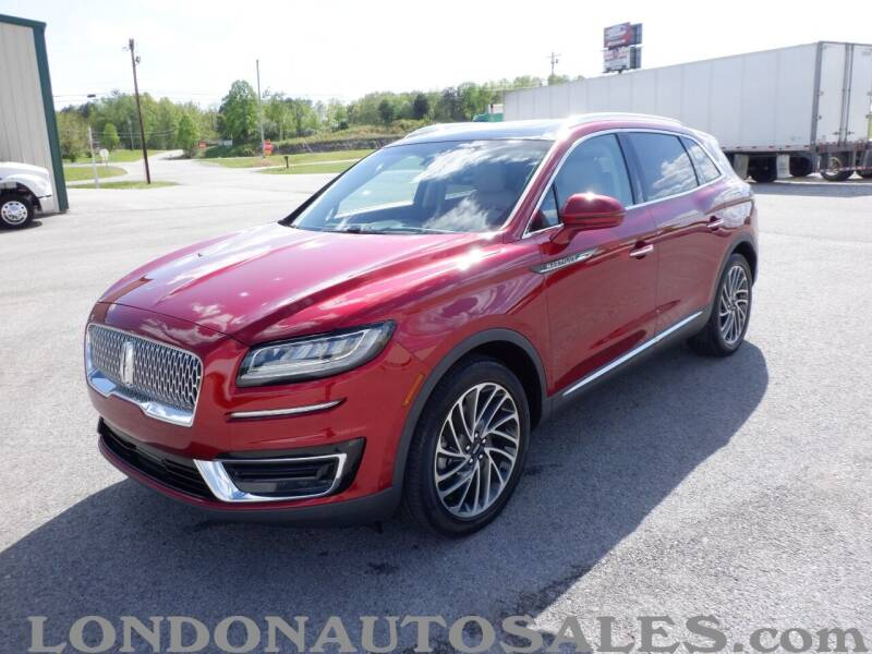 2019 Lincoln Nautilus for sale at London Auto Sales LLC in London KY
