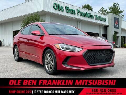 2018 Hyundai Elantra for sale at Ole Ben Franklin Mitsbishi in Oak Ridge TN