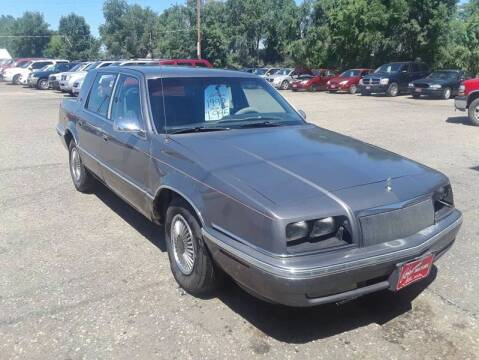 1992 Chrysler New Yorker for sale at BARNES AUTO SALES in Mandan ND