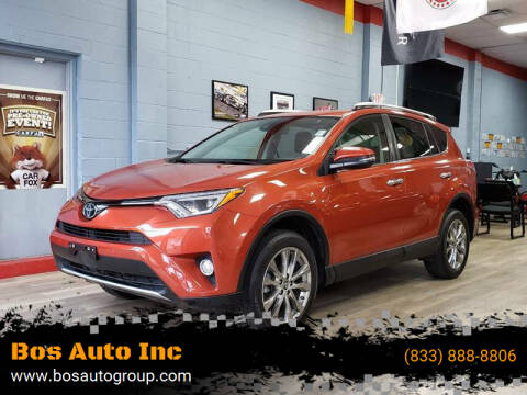 2016 Toyota RAV4 for sale at Bos Auto Inc in Quincy MA