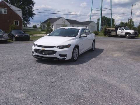 2017 Chevrolet Malibu for sale at Rob's Tower Motors in Taneytown MD