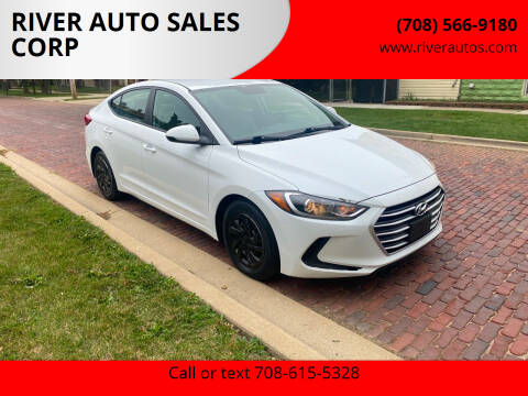 2017 Hyundai Elantra for sale at RIVER AUTO SALES CORP in Maywood IL
