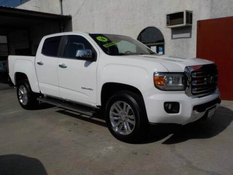 2016 GMC Canyon for sale at Bell's Auto Sales in Corona CA