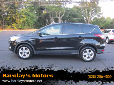 2015 Ford Escape for sale at Barclay's Motors in Conover NC