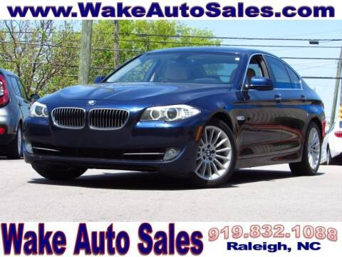 2011 BMW 5 Series for sale at Wake Auto Sales Inc in Raleigh NC
