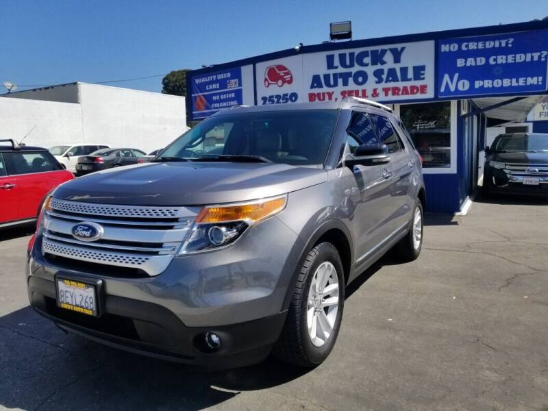 2013 Ford Explorer for sale at Lucky Auto Sale in Hayward CA