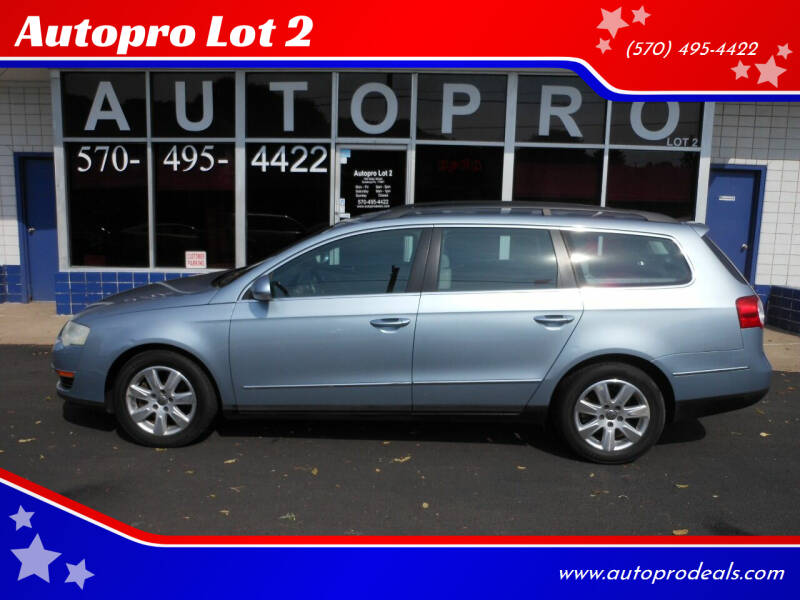 2007 Volkswagen Passat for sale at Autopro Lot 2 in Sunbury PA