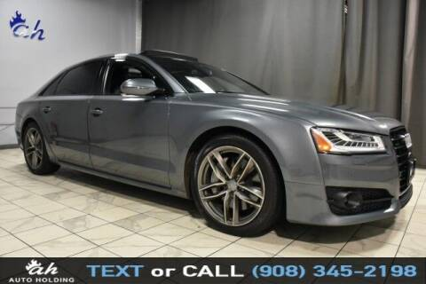 2017 Audi A8 L for sale at AUTO HOLDING in Hillside NJ