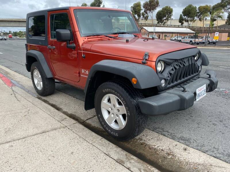 2009 Jeep Wrangler for sale at Beyer Enterprise in San Ysidro CA