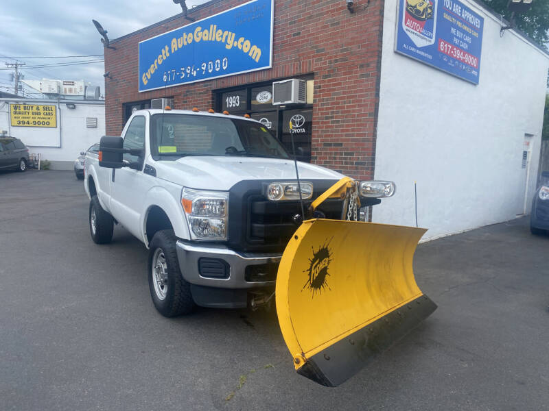 2015 Ford F-250 Super Duty for sale at Everett Auto Gallery in Everett MA