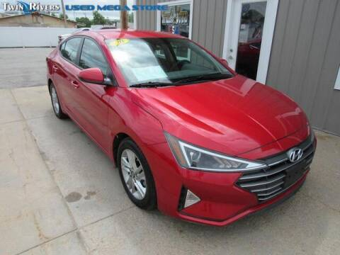 2020 Hyundai Elantra for sale at TWIN RIVERS CHRYSLER JEEP DODGE RAM in Beatrice NE