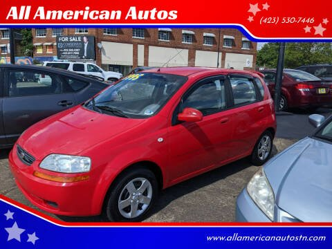 2005 Chevrolet Aveo for sale at All American Autos in Kingsport TN