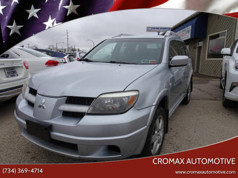 2006 Mitsubishi Outlander for sale at Cromax Automotive in Ann Arbor MI