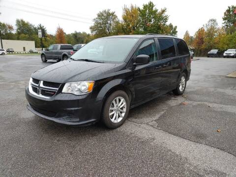 2016 Dodge Grand Caravan for sale at Cruisin' Auto Sales in Madison IN