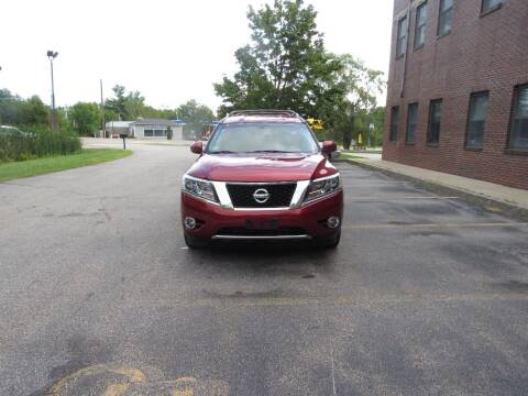 2015 Nissan Pathfinder for sale at Heritage Truck and Auto Inc. in Londonderry NH