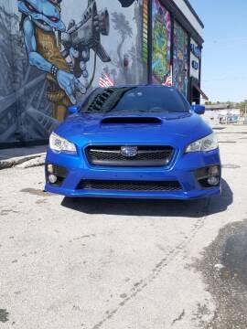 2015 Subaru WRX for sale at Rosa's Auto Sales in Miami FL