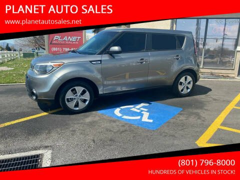 2015 Kia Soul for sale at PLANET AUTO SALES in Lindon UT
