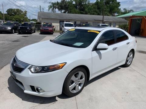 2013 Acura TSX for sale at Galaxy Auto Service, Inc. in Orlando FL