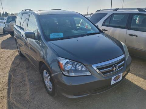 2007 Honda Odyssey for sale at BERG AUTO MALL & TRUCKING INC in Beresford SD