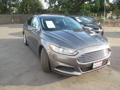 2014 Ford Fusion for sale at Quick Auto Sales in Modesto CA