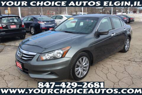 2012 Honda Accord for sale at Your Choice Autos - Elgin in Elgin IL