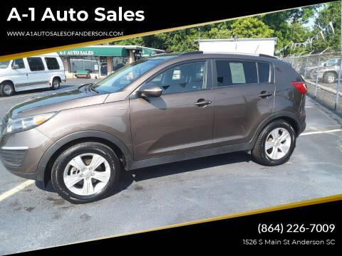 2011 Kia Sportage for sale at A-1 Auto Sales in Anderson SC