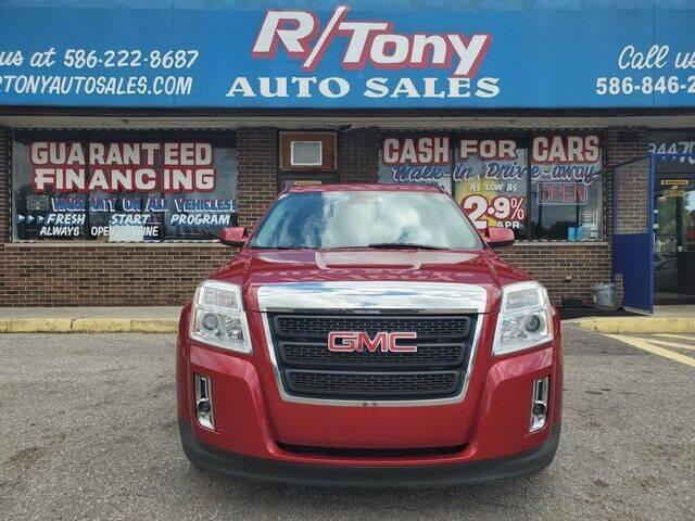 2013 GMC Terrain for sale at R Tony Auto Sales in Clinton Township MI