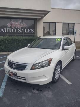2010 Honda Accord for sale at Mike's Auto Sales INC in Chesapeake VA