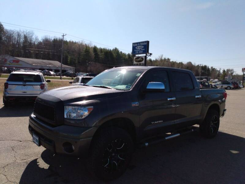 2013 Toyota Tundra for sale at Ripley & Fletcher Pre-Owned Sales & Service in Farmington ME