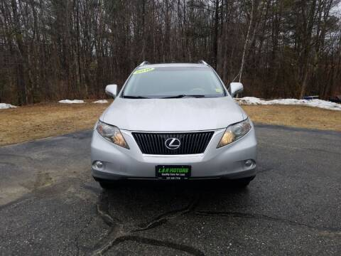 2010 Lexus RX 350 for sale at L & R Motors in Greene ME