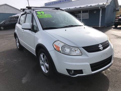 2009 Suzuki SX4 Crossover for sale at HACKETT & SONS LLC in Nelson PA