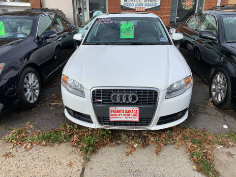 2008 Audi A4 for sale at Frank's Garage in Linden NJ