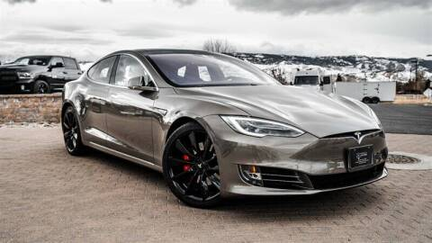 2016 Tesla Model S for sale at MUSCLE MOTORS AUTO SALES INC in Reno NV