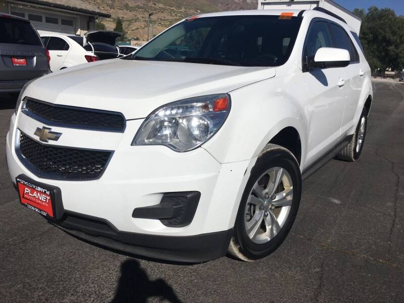 2013 Chevrolet Equinox for sale at PLANET AUTO SALES in Lindon UT