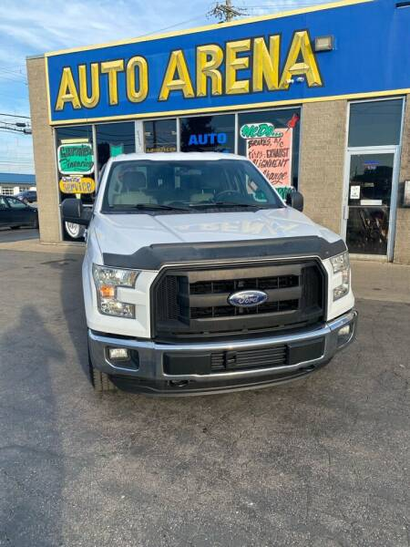 2016 Ford F-150 for sale at Auto Arena in Fairfield OH