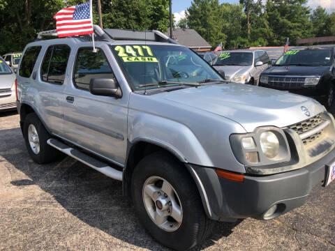 2002 Nissan Xterra for sale at Klein on Vine in Cincinnati OH